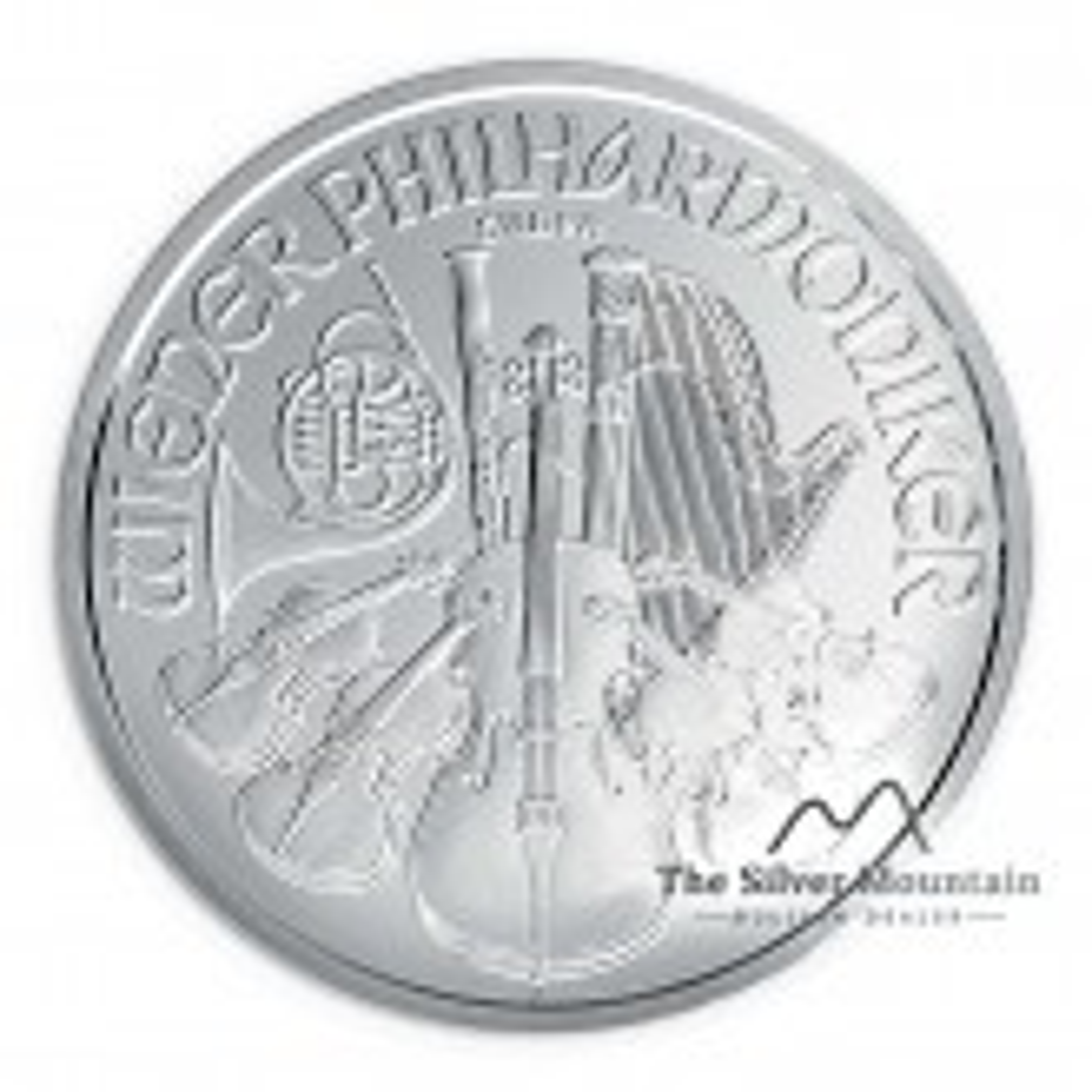 Wiener Philharmoniker munt 2020