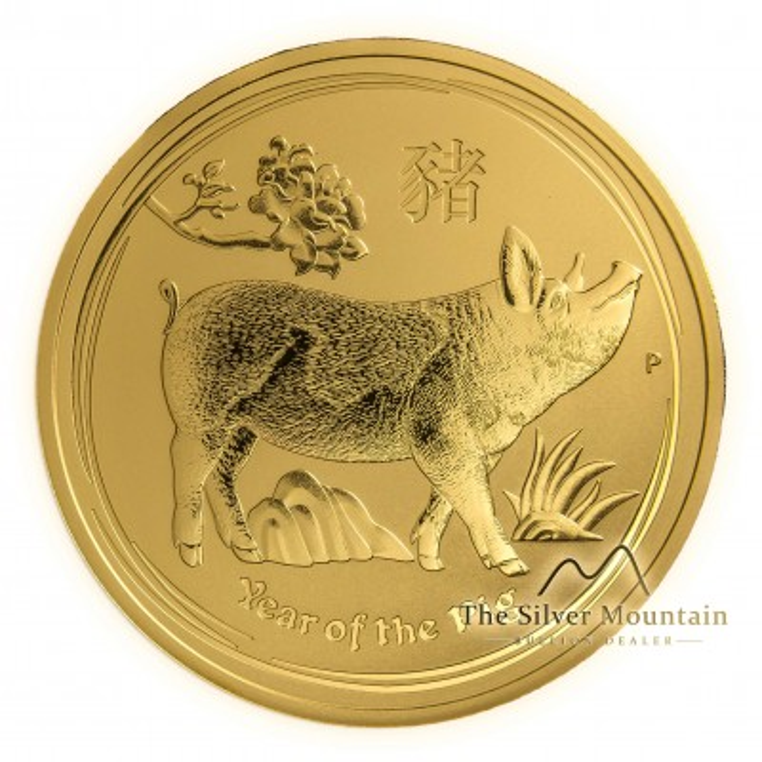 1 Troy ounce gouden munt Lunar 2019