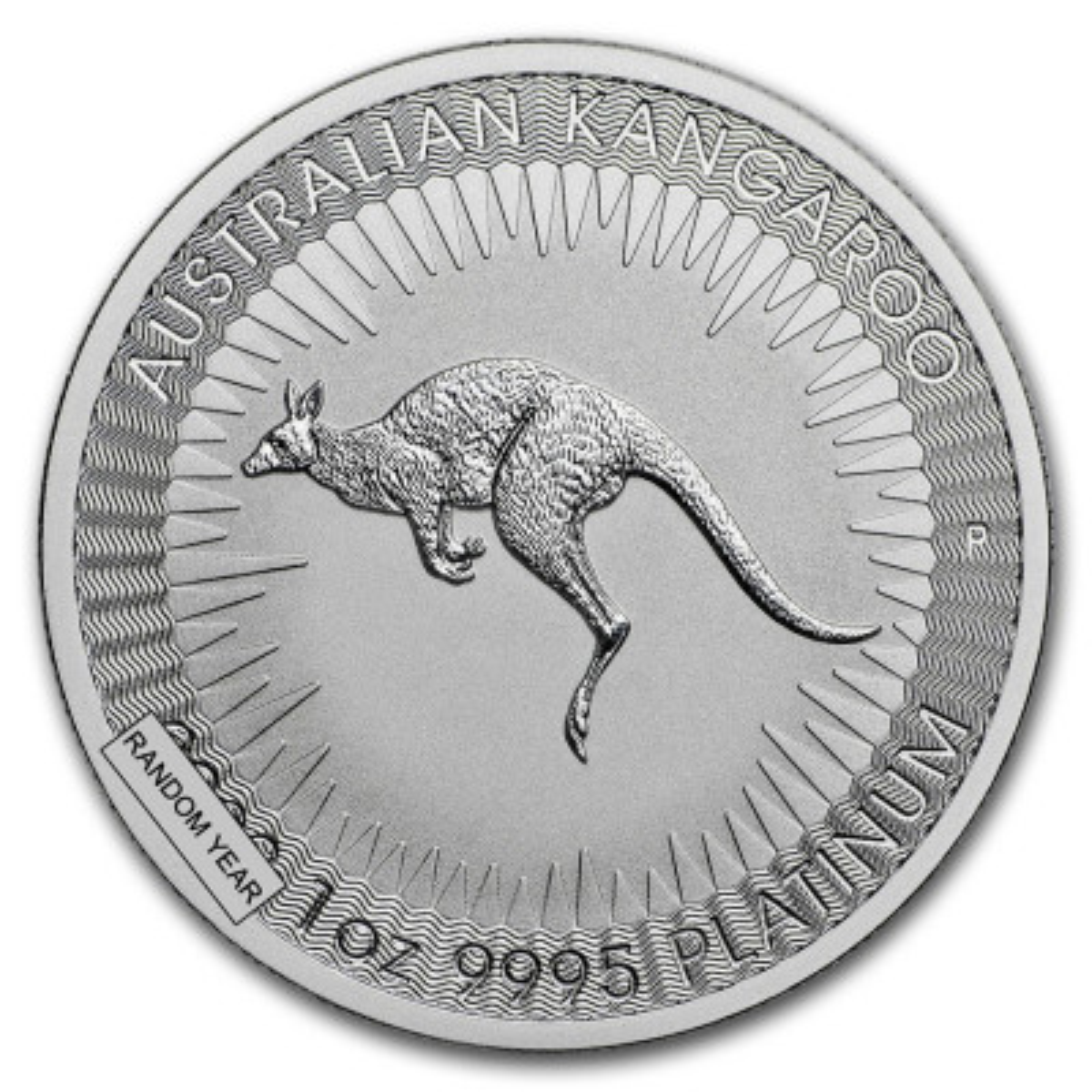 1 Troy ounce platina Kangaroo munt
