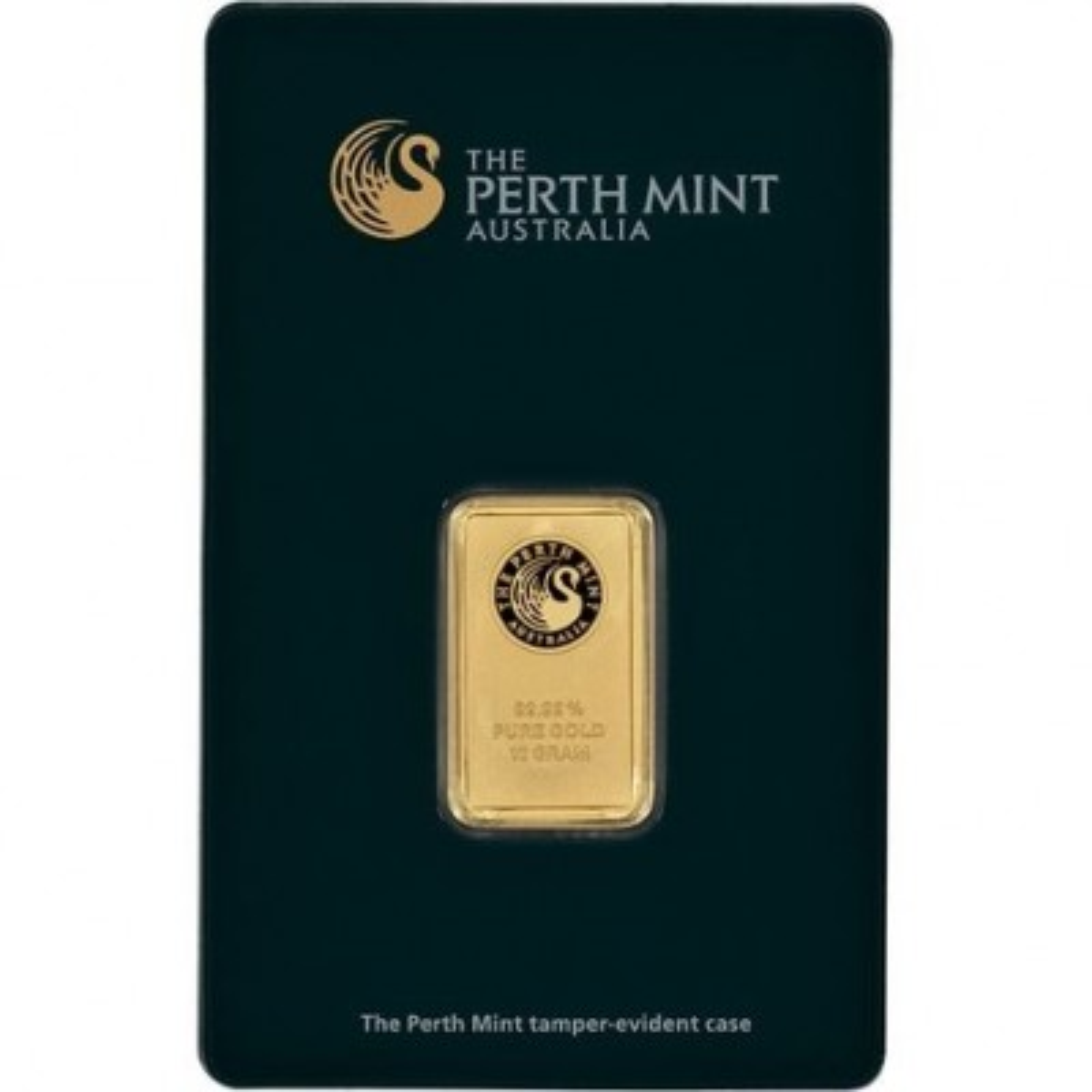 10 Gram goud baar Perth Mint seal