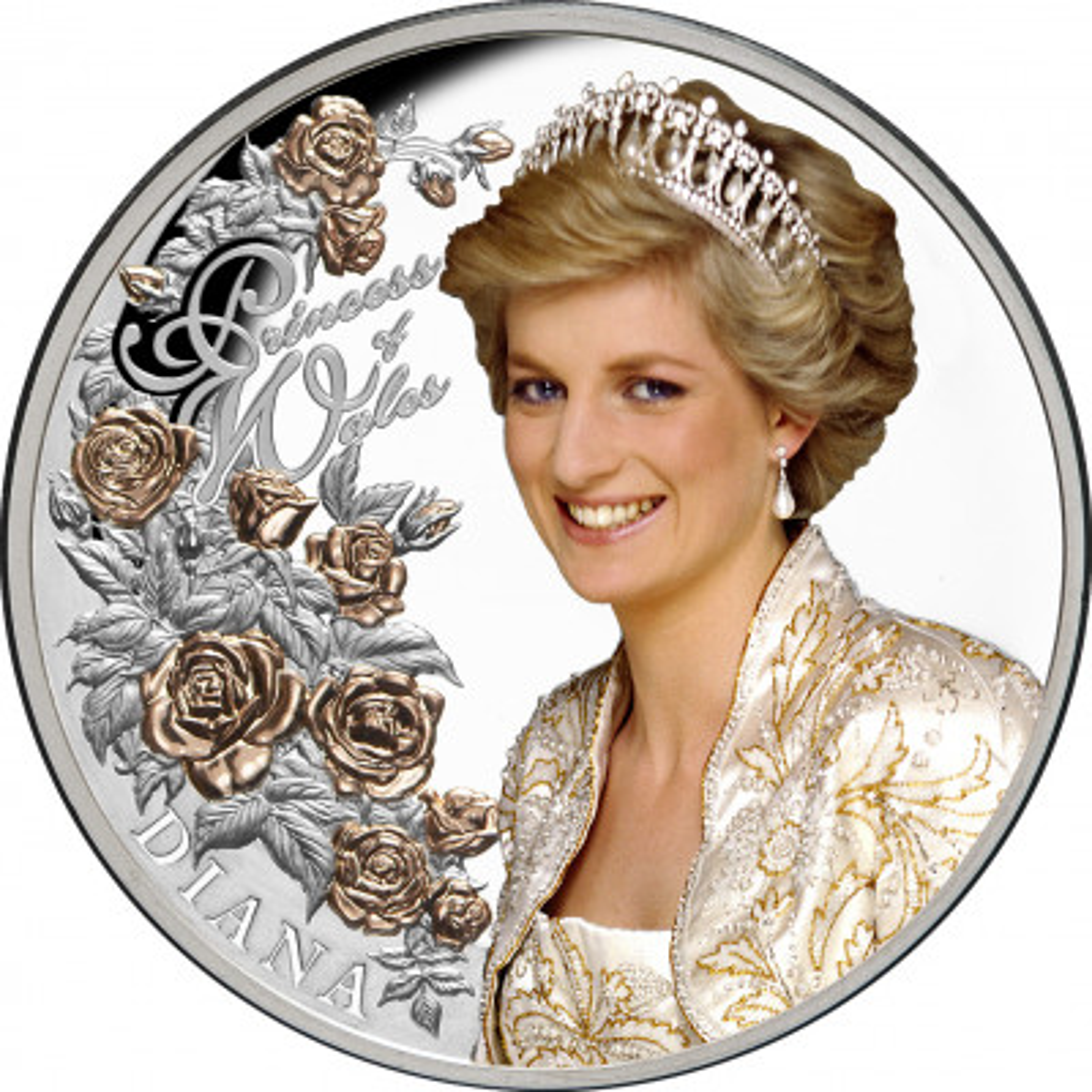 1 troy ounce zilveren munt Princess of Wales 2021 Proof
