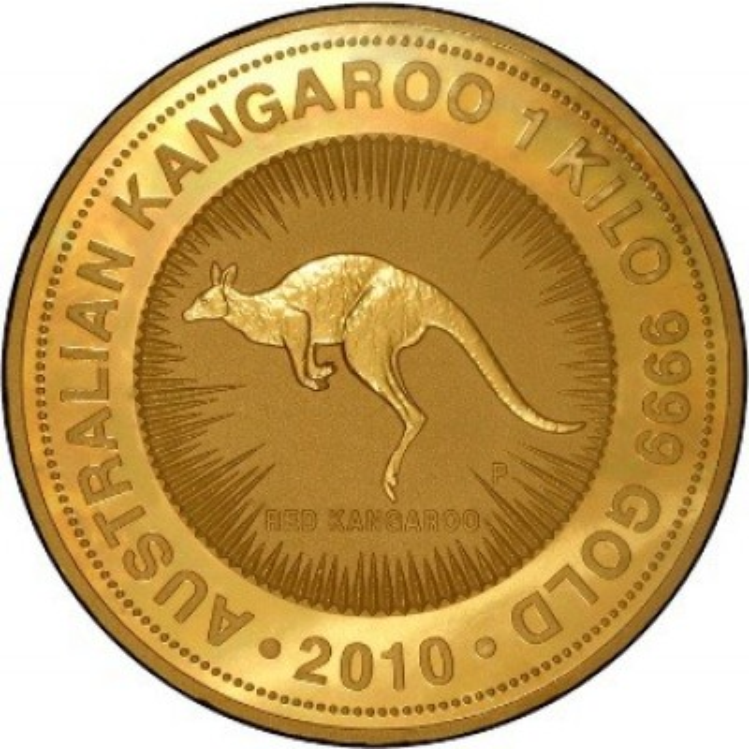 1 Kilogram gouden Kangaroo munt 1998