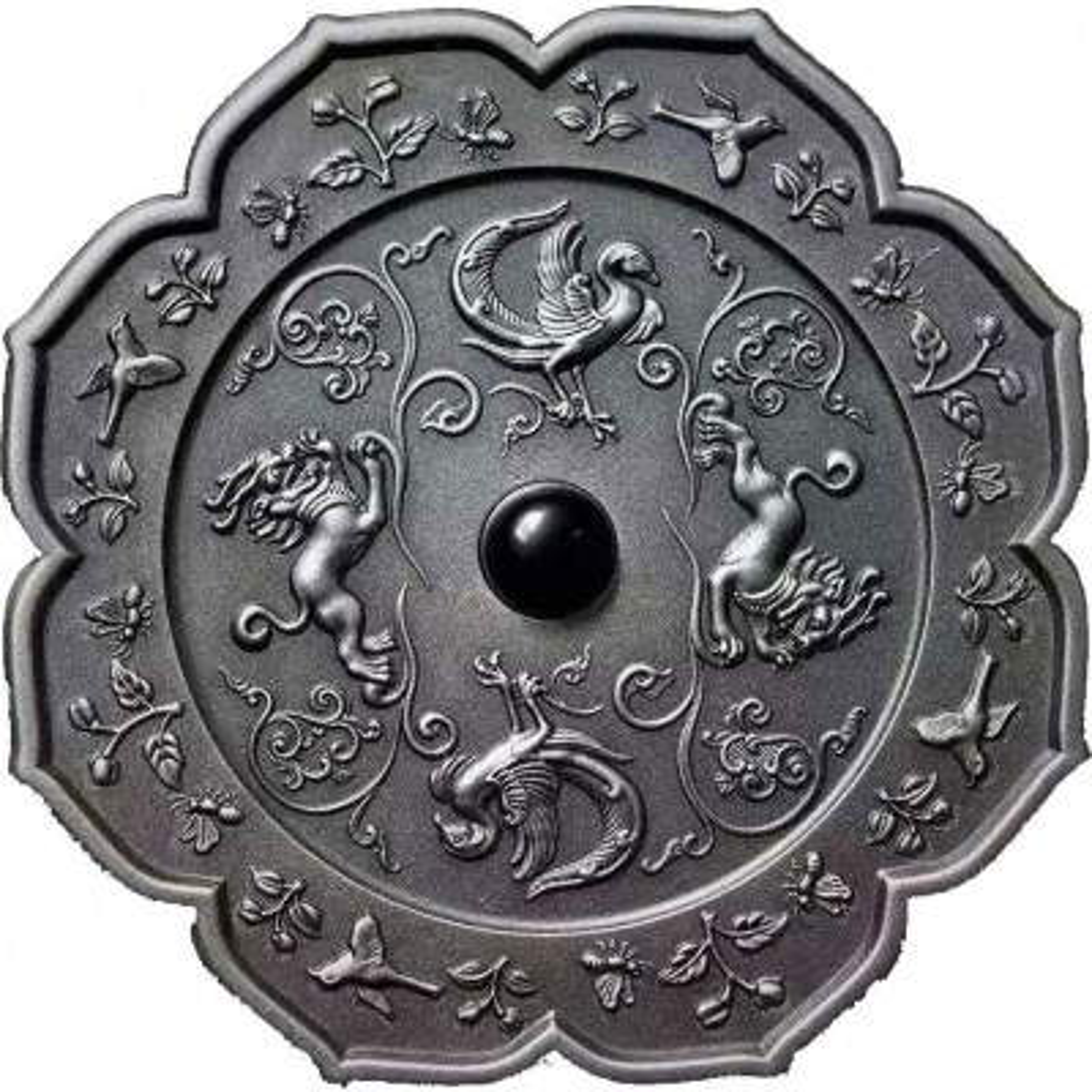 2 troy ounce zilveren munt Ancient Mirror Art 2021