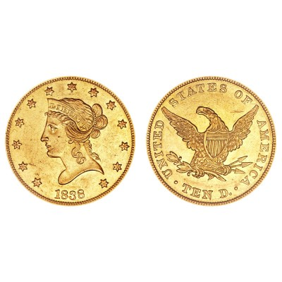 $10 gouden munt Double Eagle (Coronet Head)