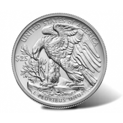 1 Troy ounce palladium munt American Eagle