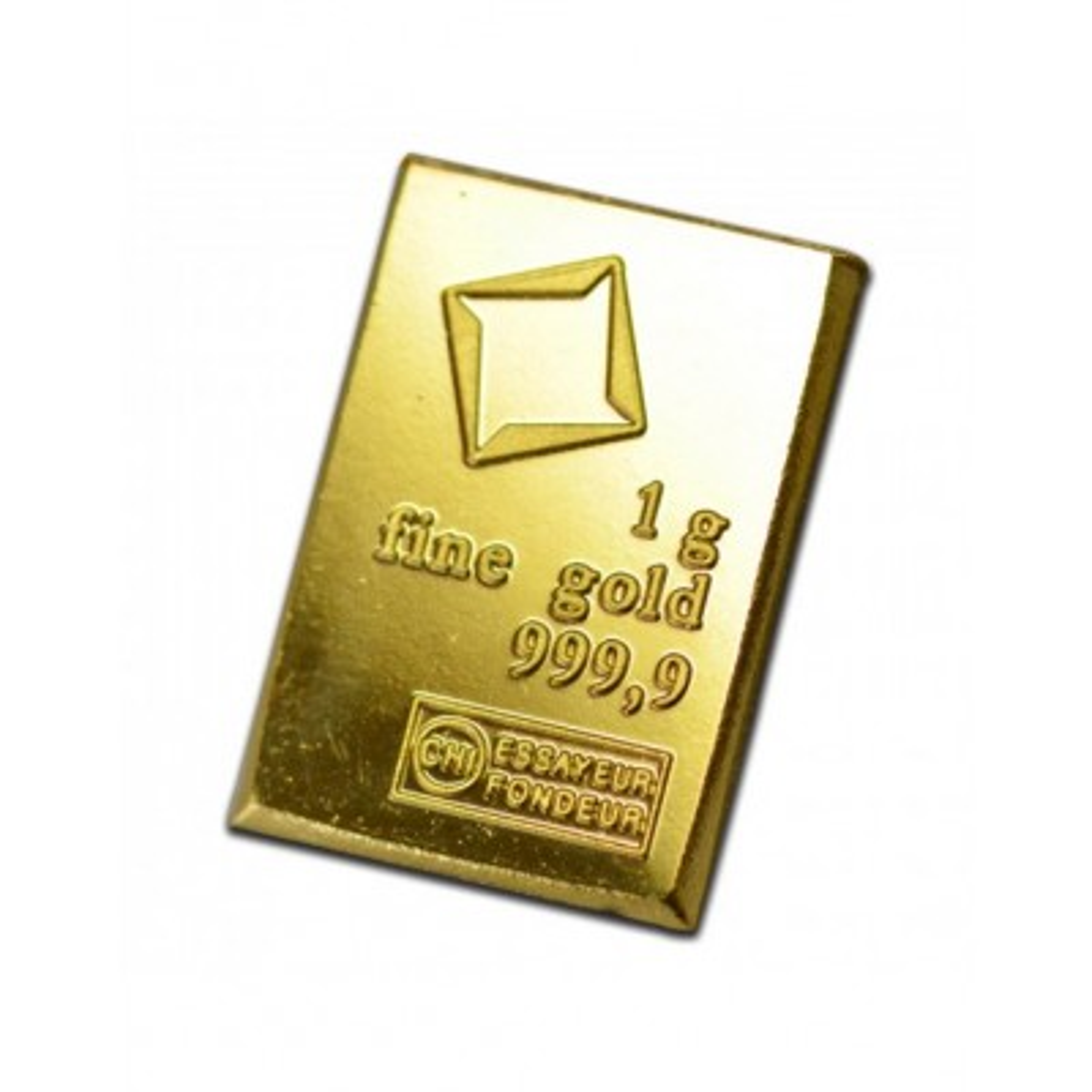 Goud baar 1 gram Valcambi