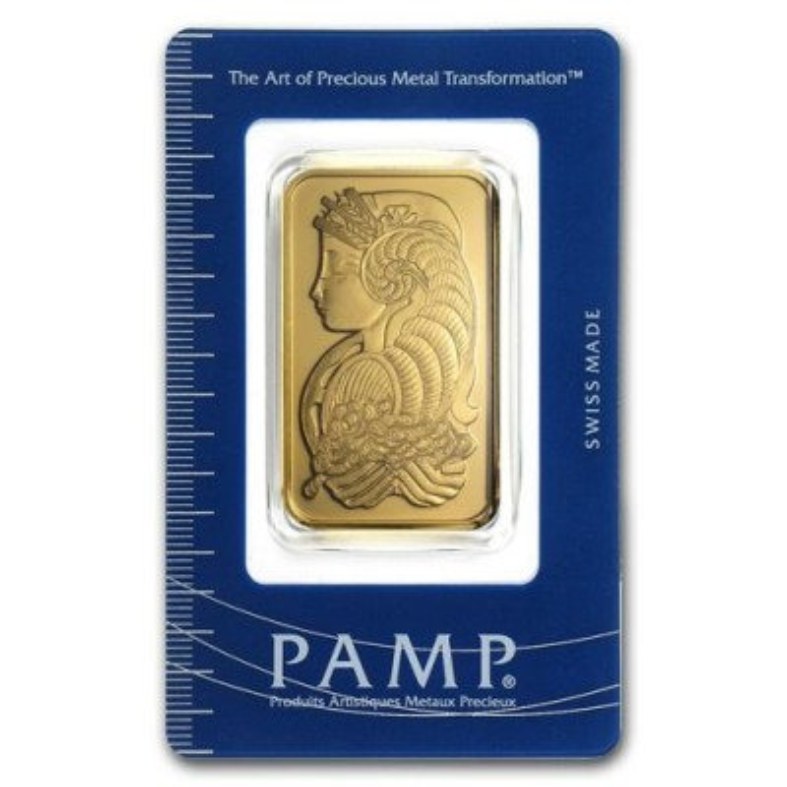 1 Troy ounce Pamp Suisse goudbaar Lady Fortuna