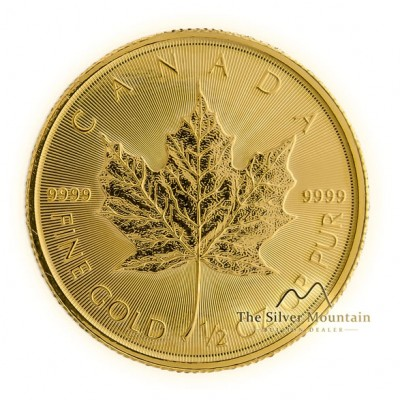 1/2 troy ounce goud maple leaf munt 2019