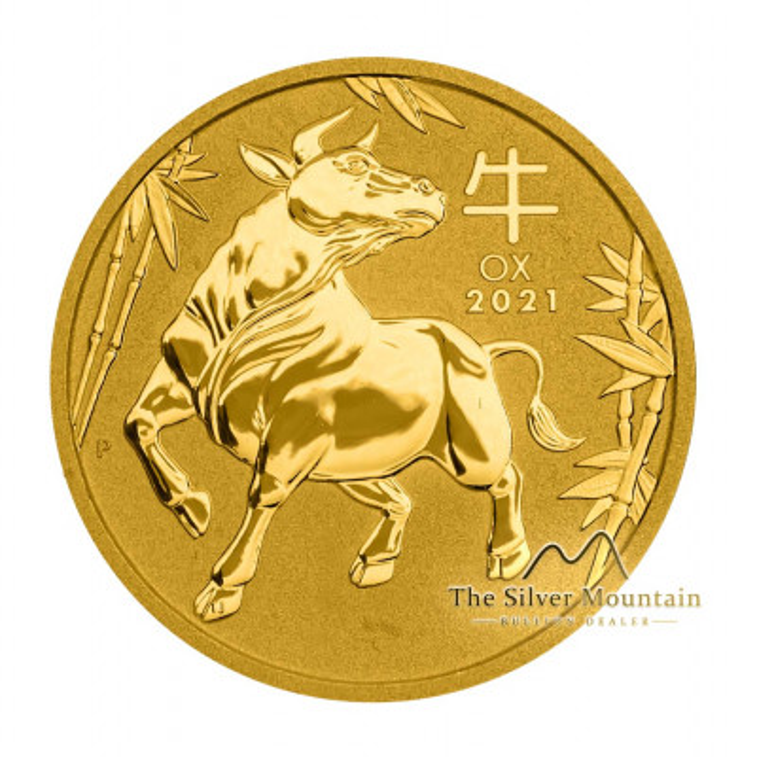 10 Troy ounce gouden munt Lunar 2021 - Os
