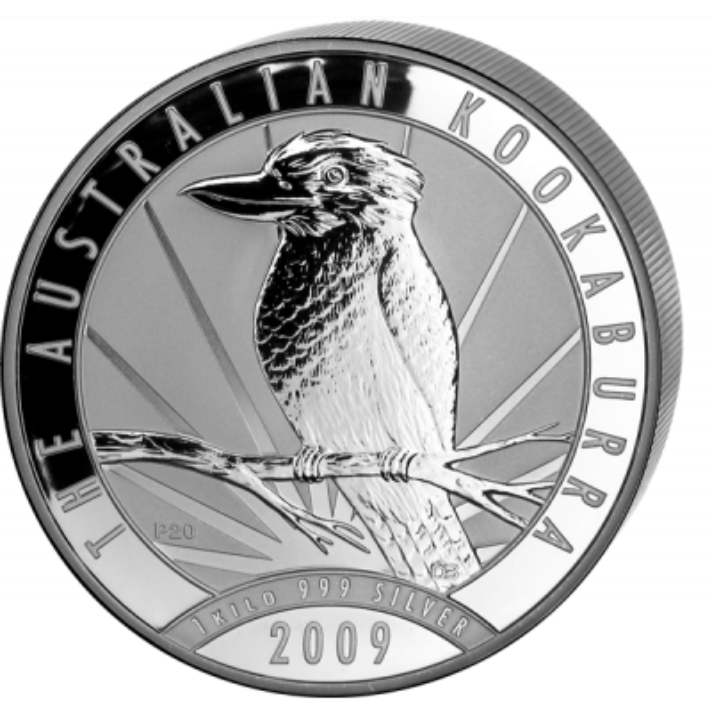 2009 kilo kookaburra munt