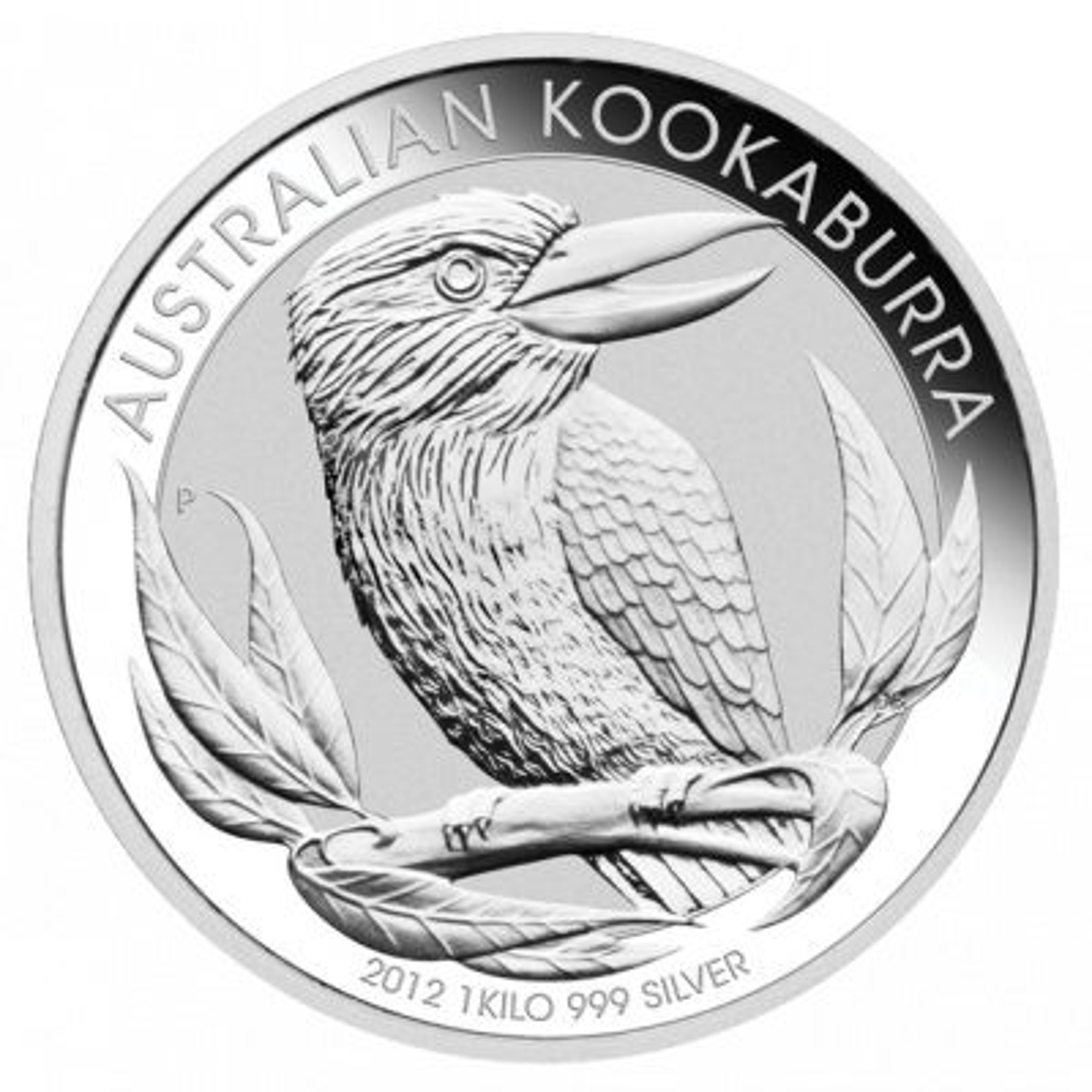2012 kilo Kookaburra Perth Mint zilver
