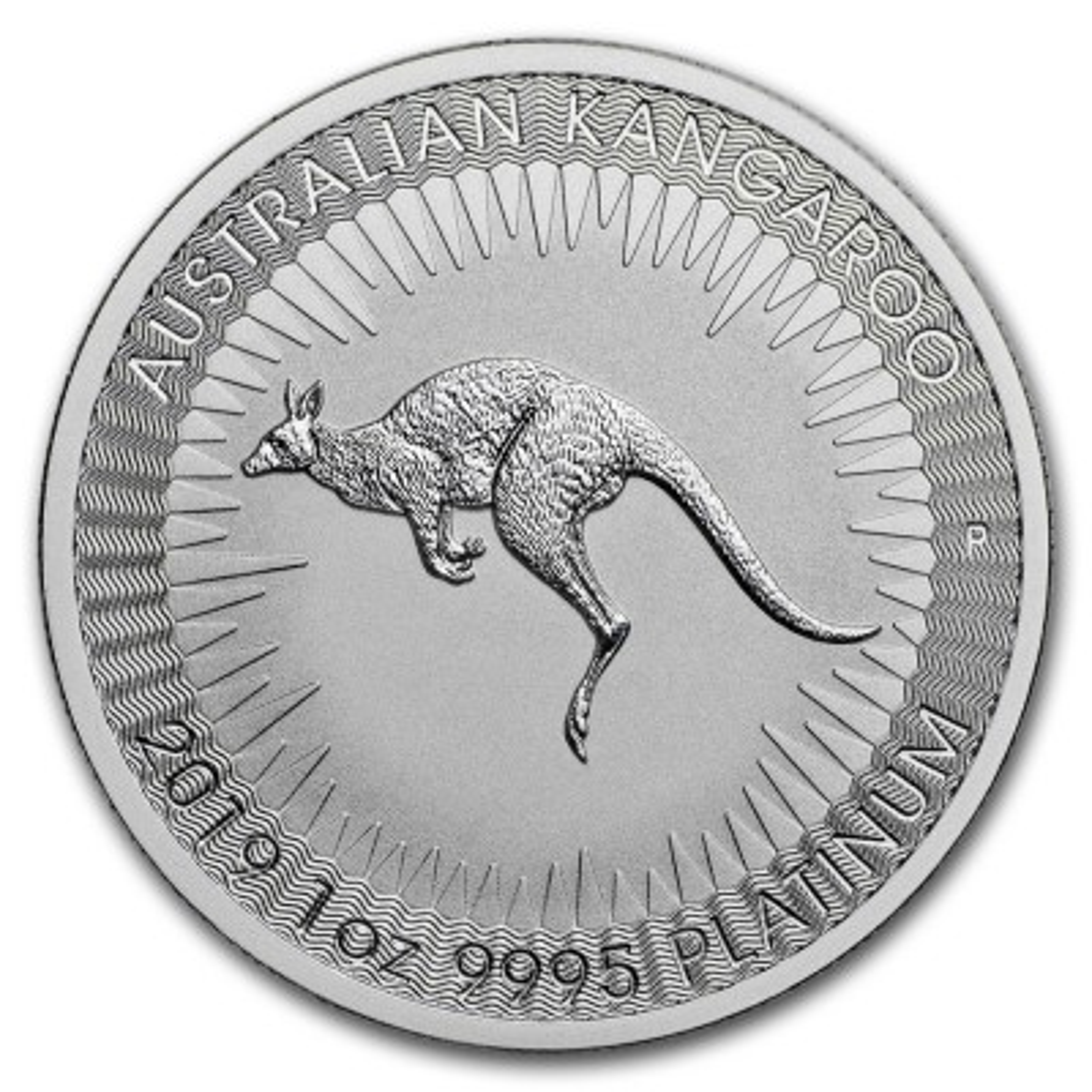 1 Troy ounce Platina Kangaroo munt 2020