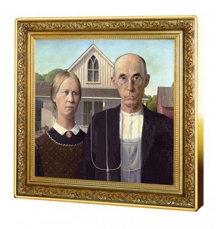 1 troy ounce zilveren munt American Gothic 2019 Proof