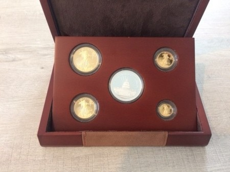 American Eagle 25th Anniversary by Gold Premium set