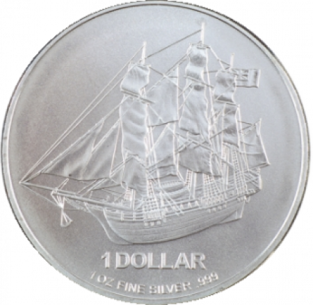 Cook Islands 1 troy ounce zilveren munt