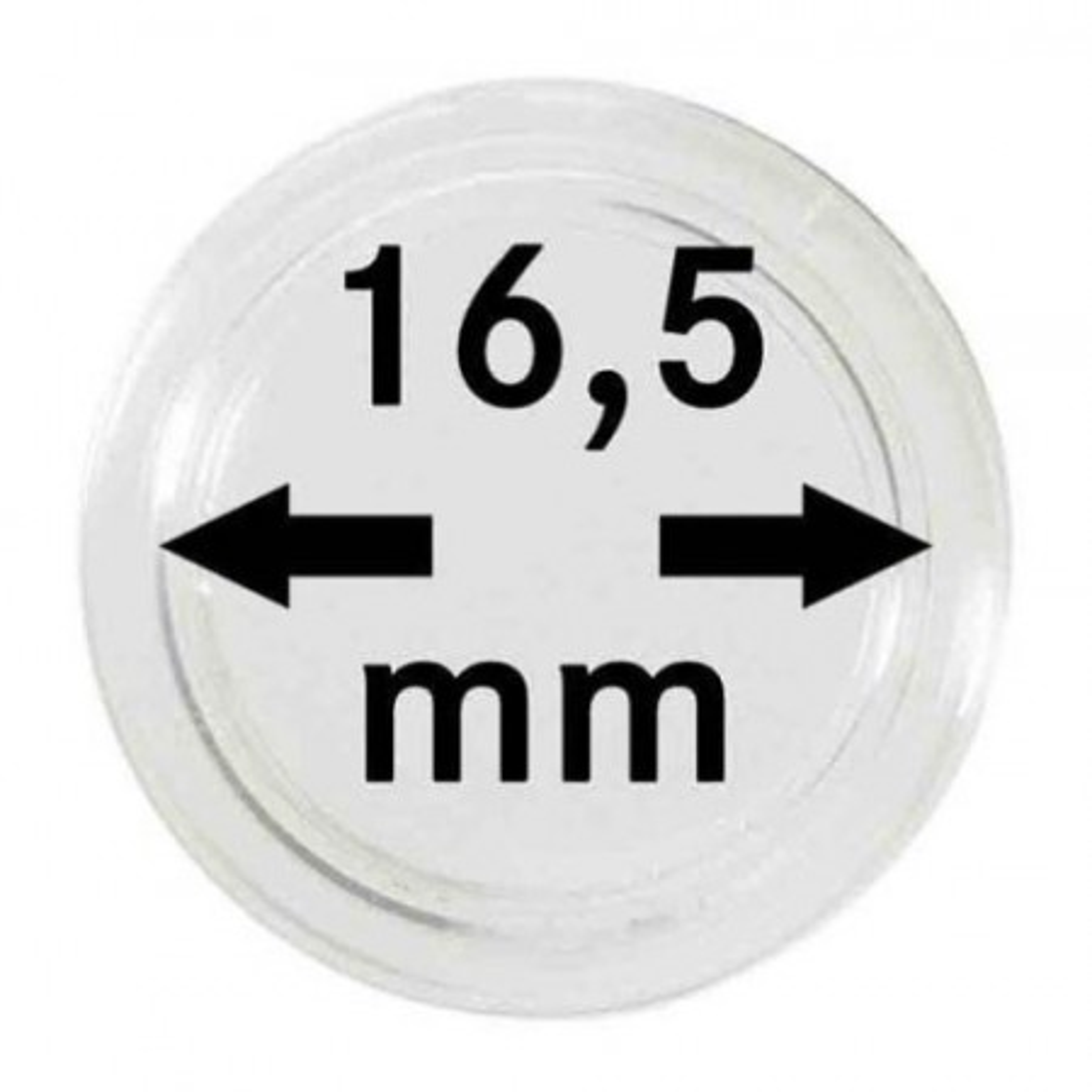 16.5 mm Leuchtturm muntcapsules