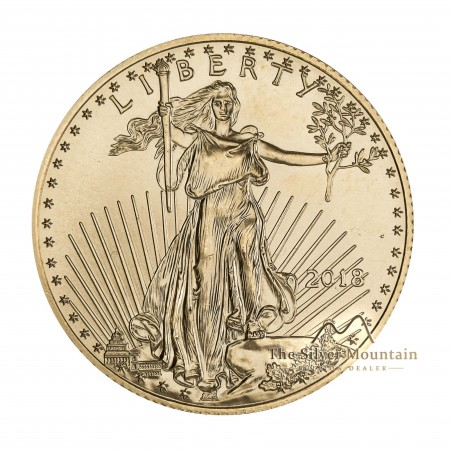 1/2 troy ounce American Gold Eagle munt