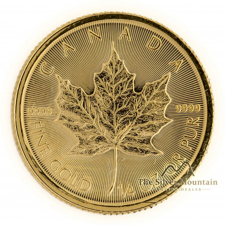 1/4 troy ounce gouden Maple Leaf munt