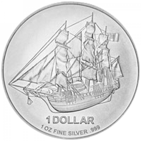 1 Kilo Cook Islands Bounty zilver munt