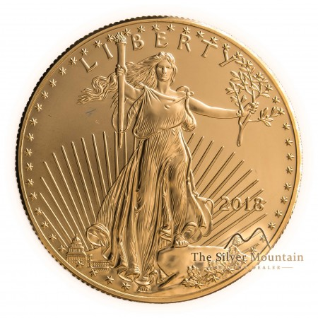 1 troy ounce gouden American Eagle