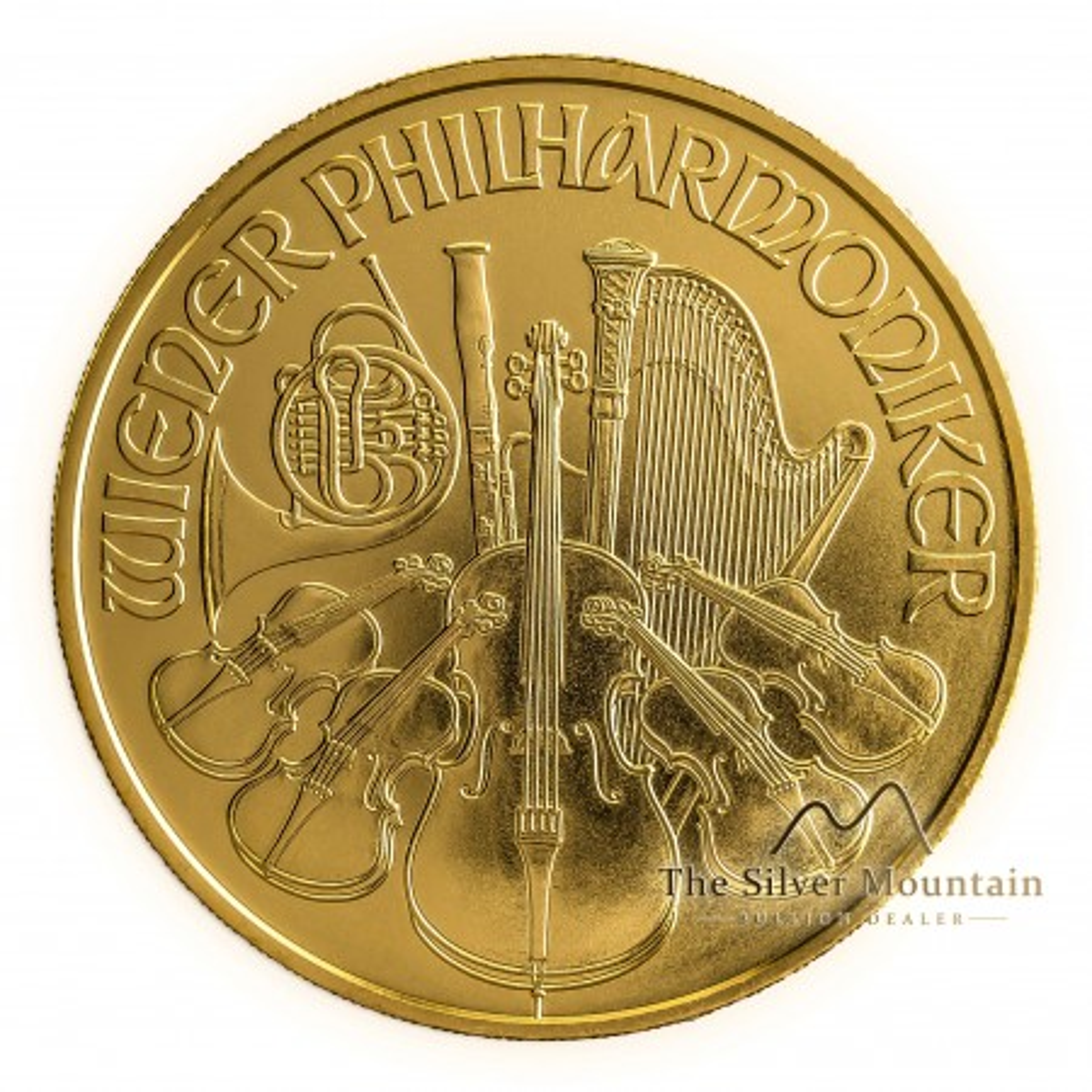 1 troy ounce gouden Philharmoniker munt