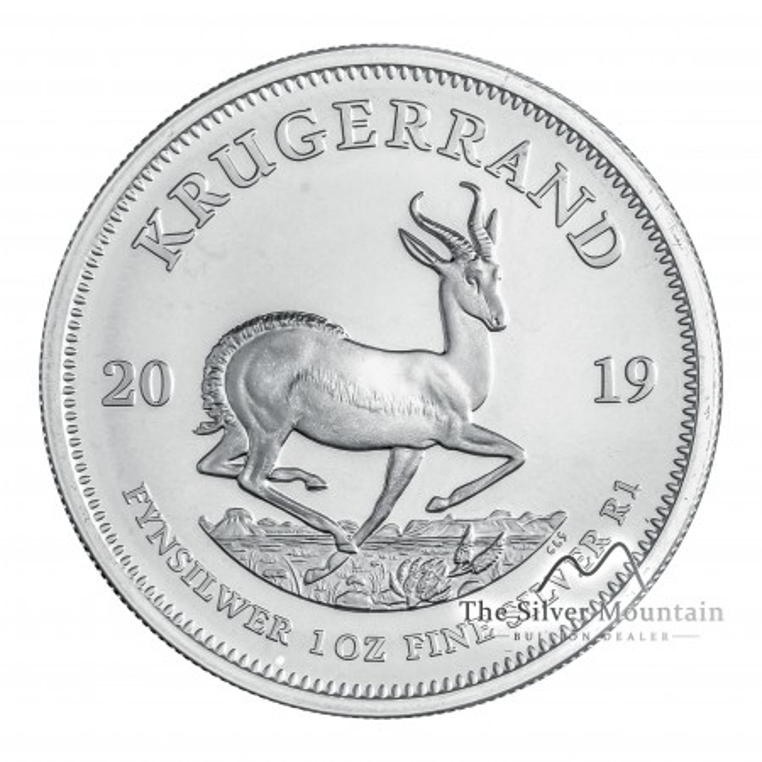 1 Troy ounce zilveren munt Krugerrand