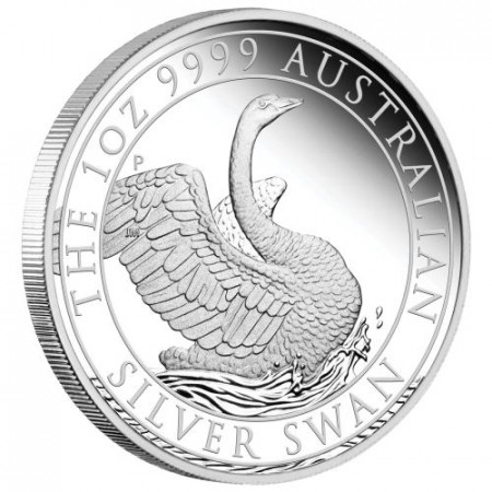 1 troy ounce zilveren munt zwaan 2020 Proof