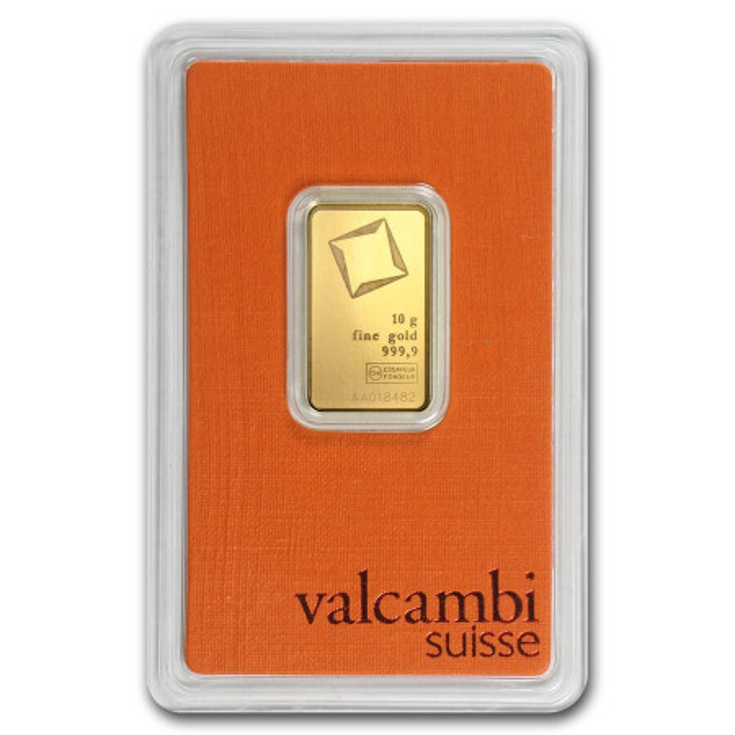Goudbaar 10 gram Valcambi