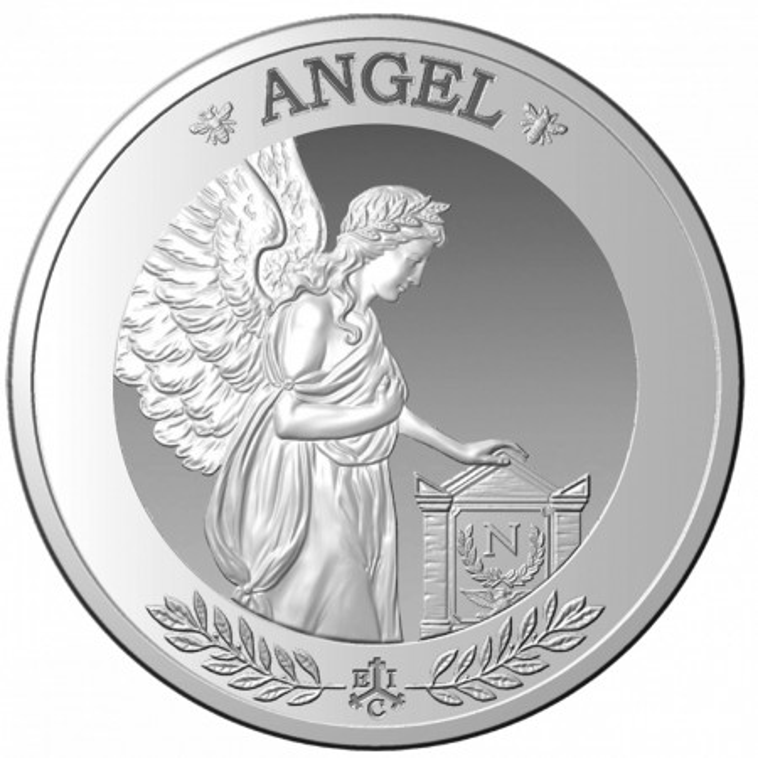 1 troy ounce zilveren munt Saint-Helena engel 2021 Proof