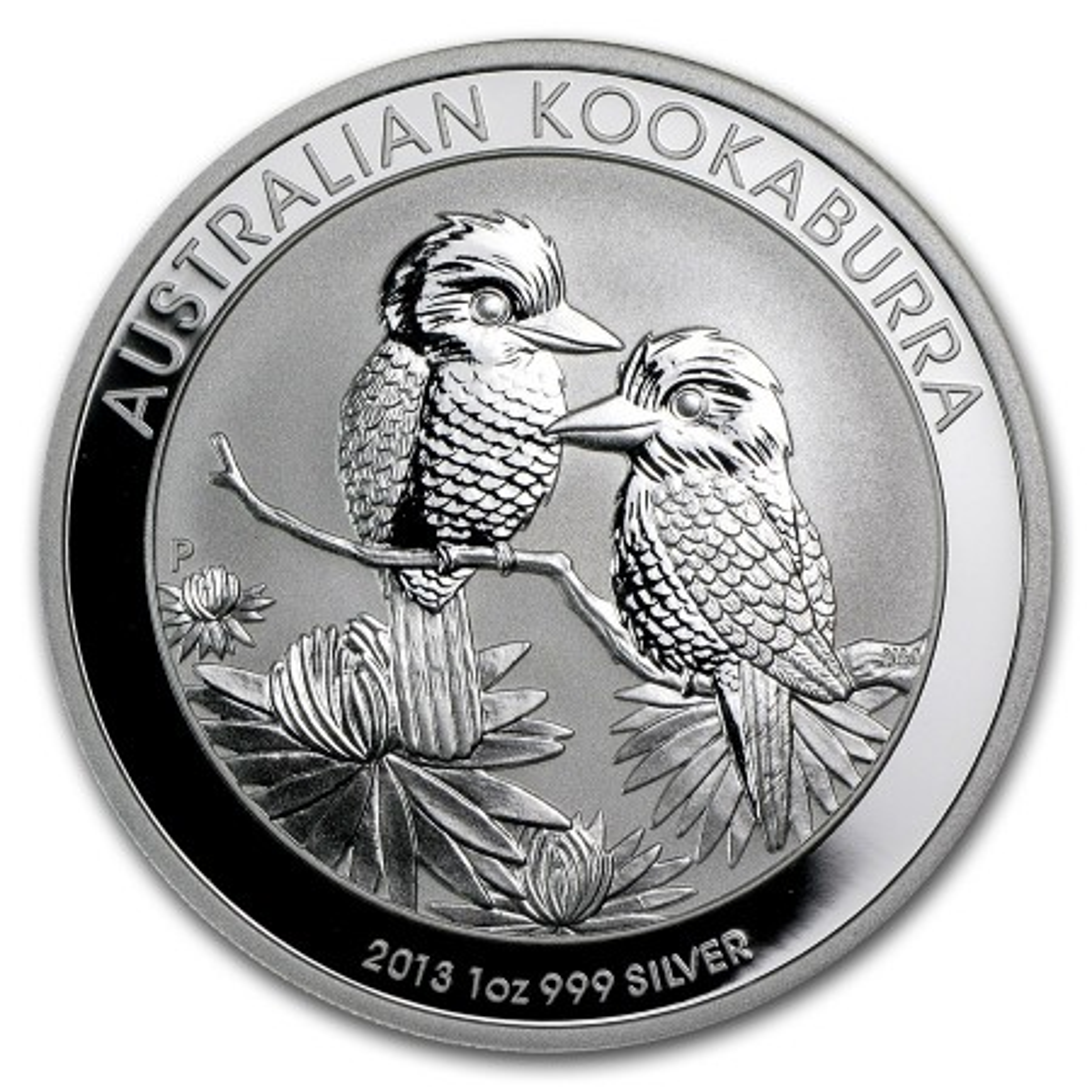 1 Troy ounce zilver munt Kookaburra 2013