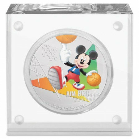 1 troy ounce zilveren munt Disney Micky Mouse - Aim High 2020 Proof