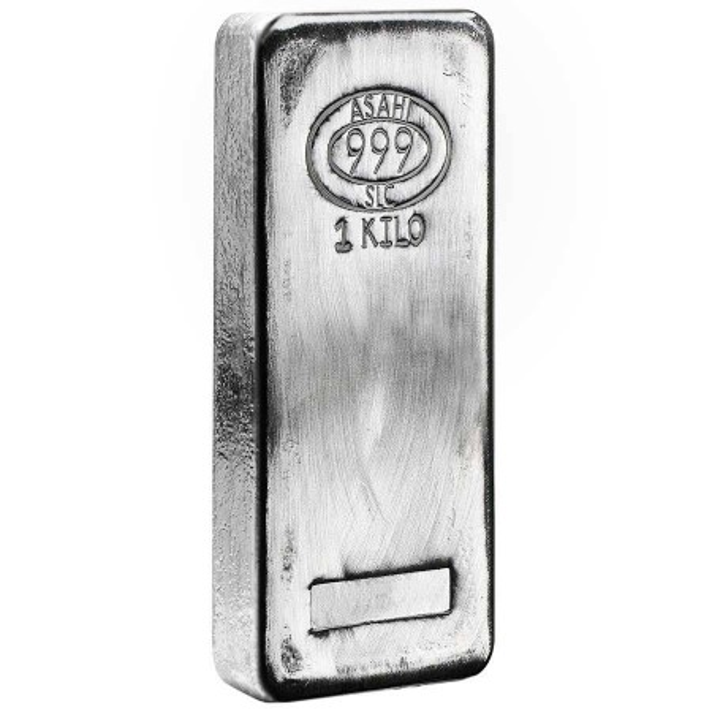 1 Kilogram zilver baar BTW-vrij Asahi