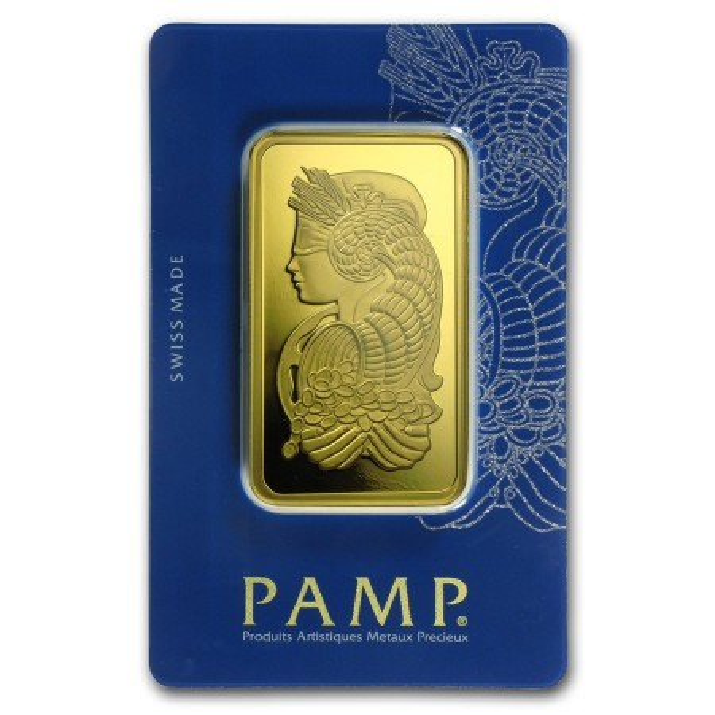Goudbaar 100 gram Pamp Suisse Lady Fortuna