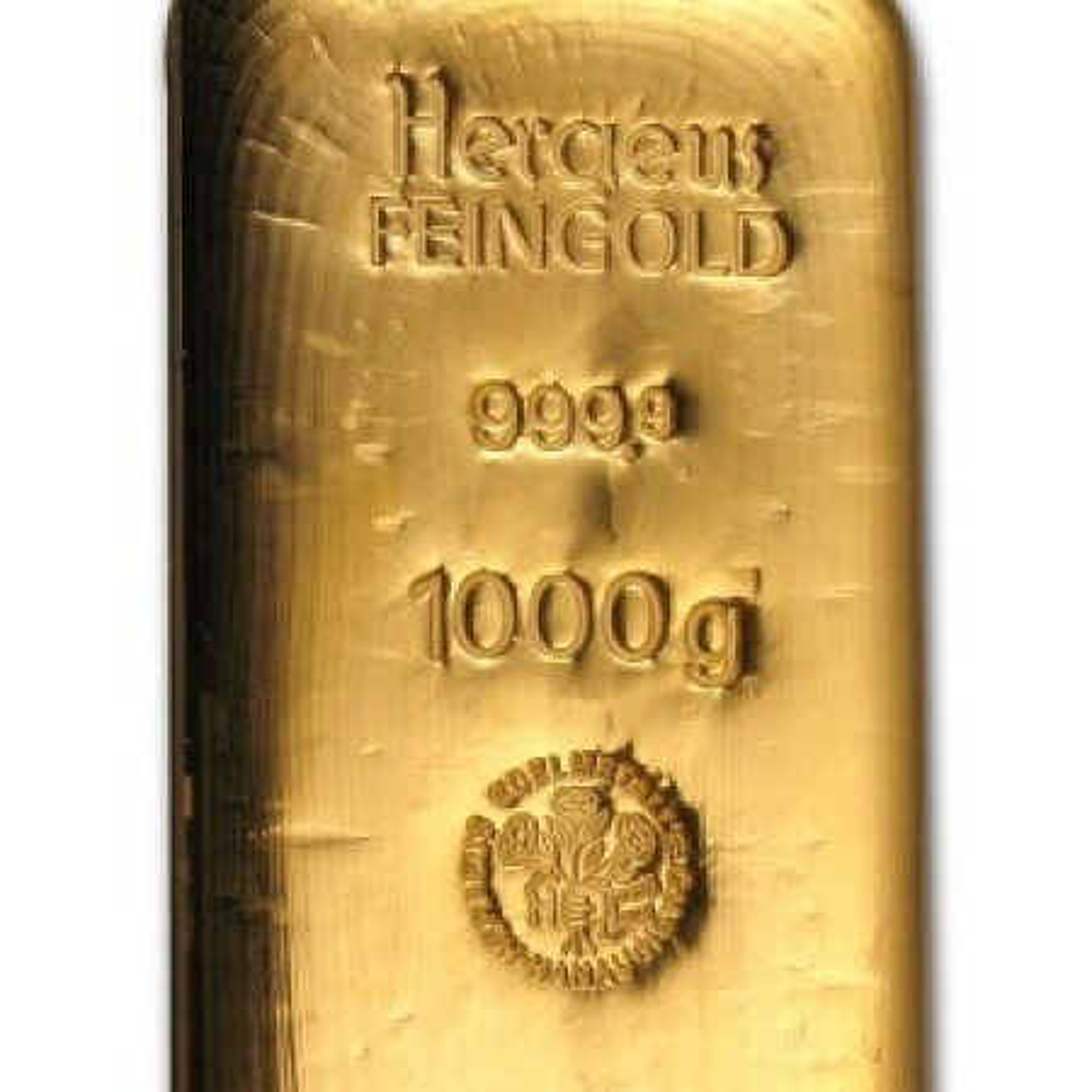 1 Kilo puur goud baar
