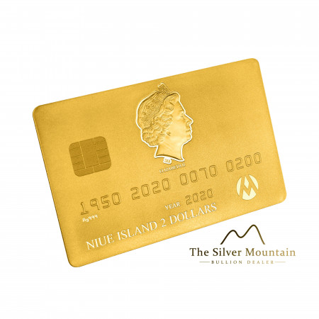 1.5 troy ounce gouden credit card munt 2020