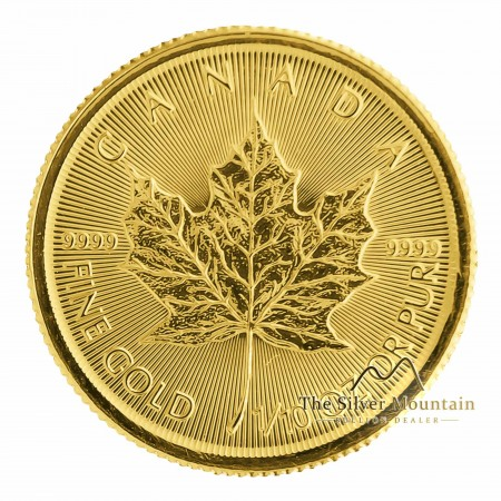 1/10 Troy ounce gouden Maple Leaf munt 2020