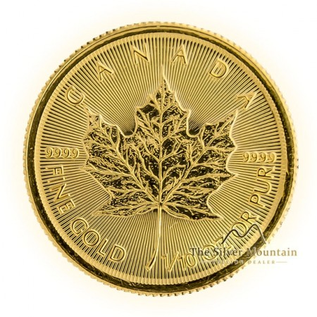 1/10 Troy ounce gouden Maple Leaf munt 2019