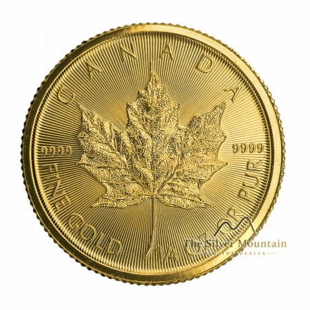 1/4 Troy ounce gouden munt Maple Leaf 2021