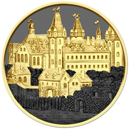 1 Troy ounce zilveren munt Golden Ring - Wiener Neustadt 2019