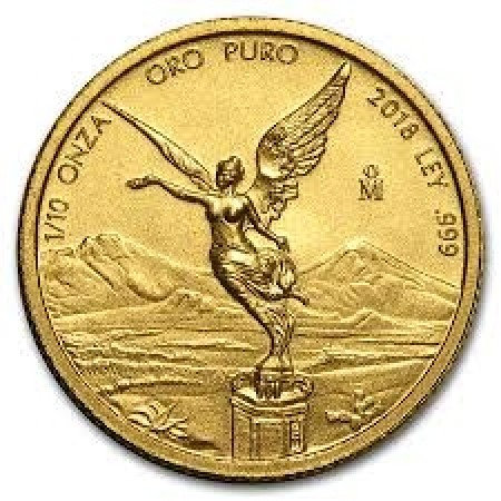 1/10 Troy ounce gouden munt Mexican Libertad