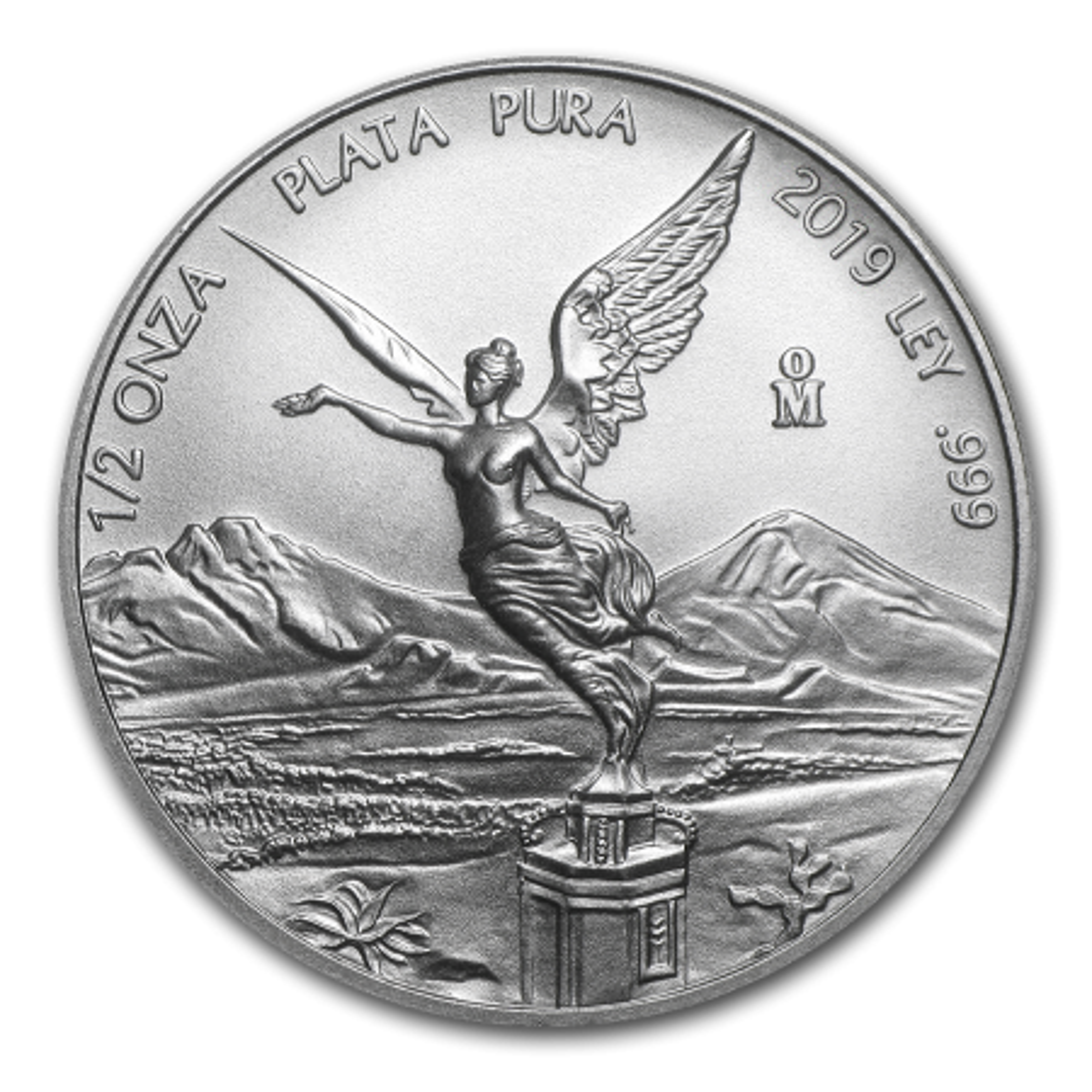 1/2 Troy ounce zilveren munt Mexican Libertad 2019