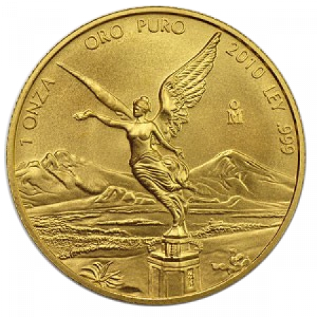 1 Troy ounce gouden munt Mexican Libertad