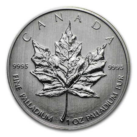1 Troy ounce Palladium Maple Leaf munt 2009