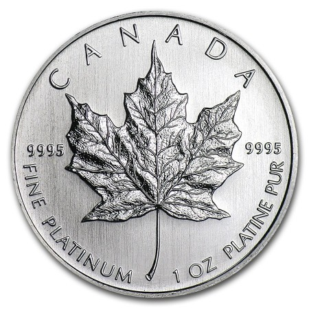 1 Troy ounce platina Maple Leaf