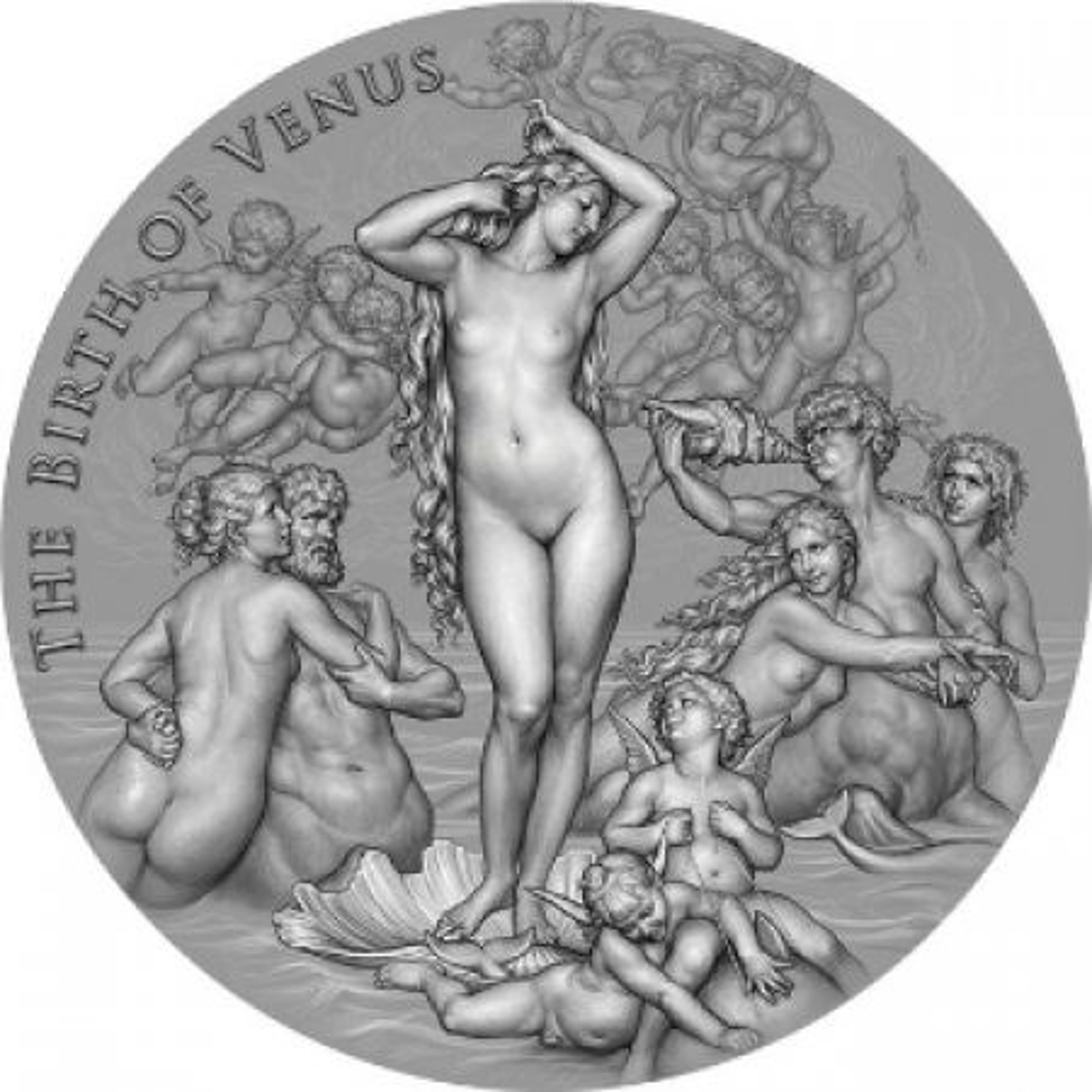 2 troy ounce zilveren munt Venus 2021