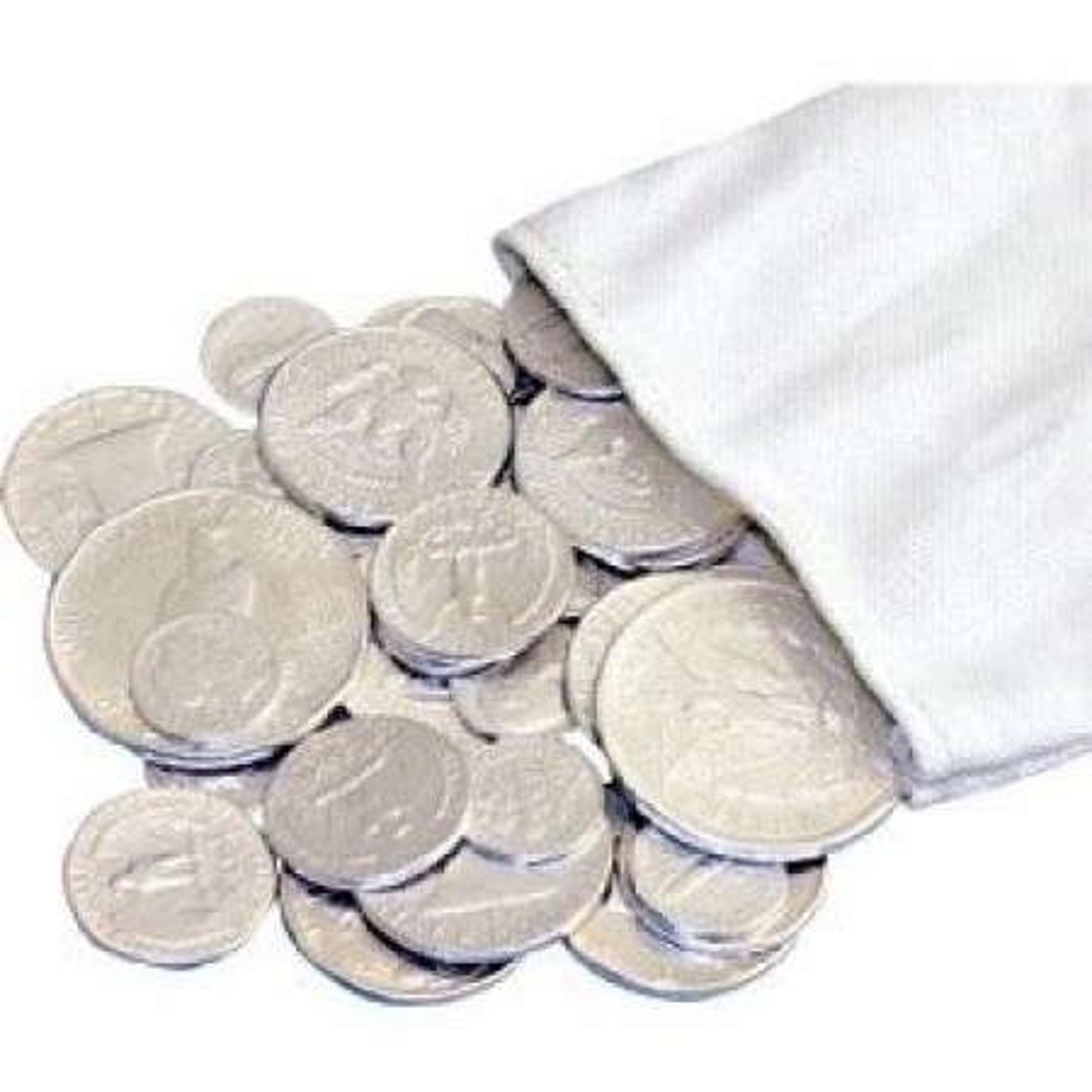 set zilveren penningen 92,5%