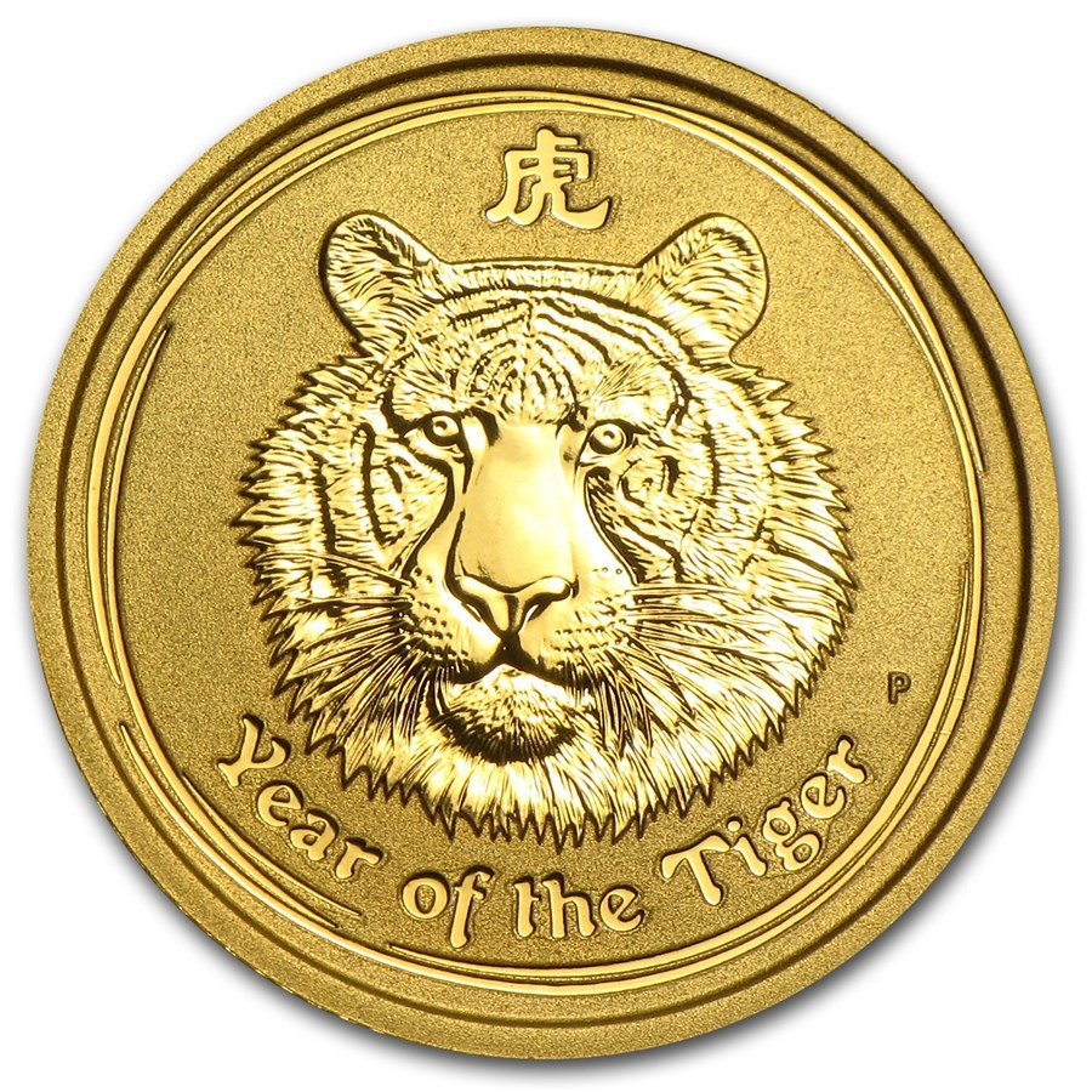 Lunar Series II gouden munt tijger