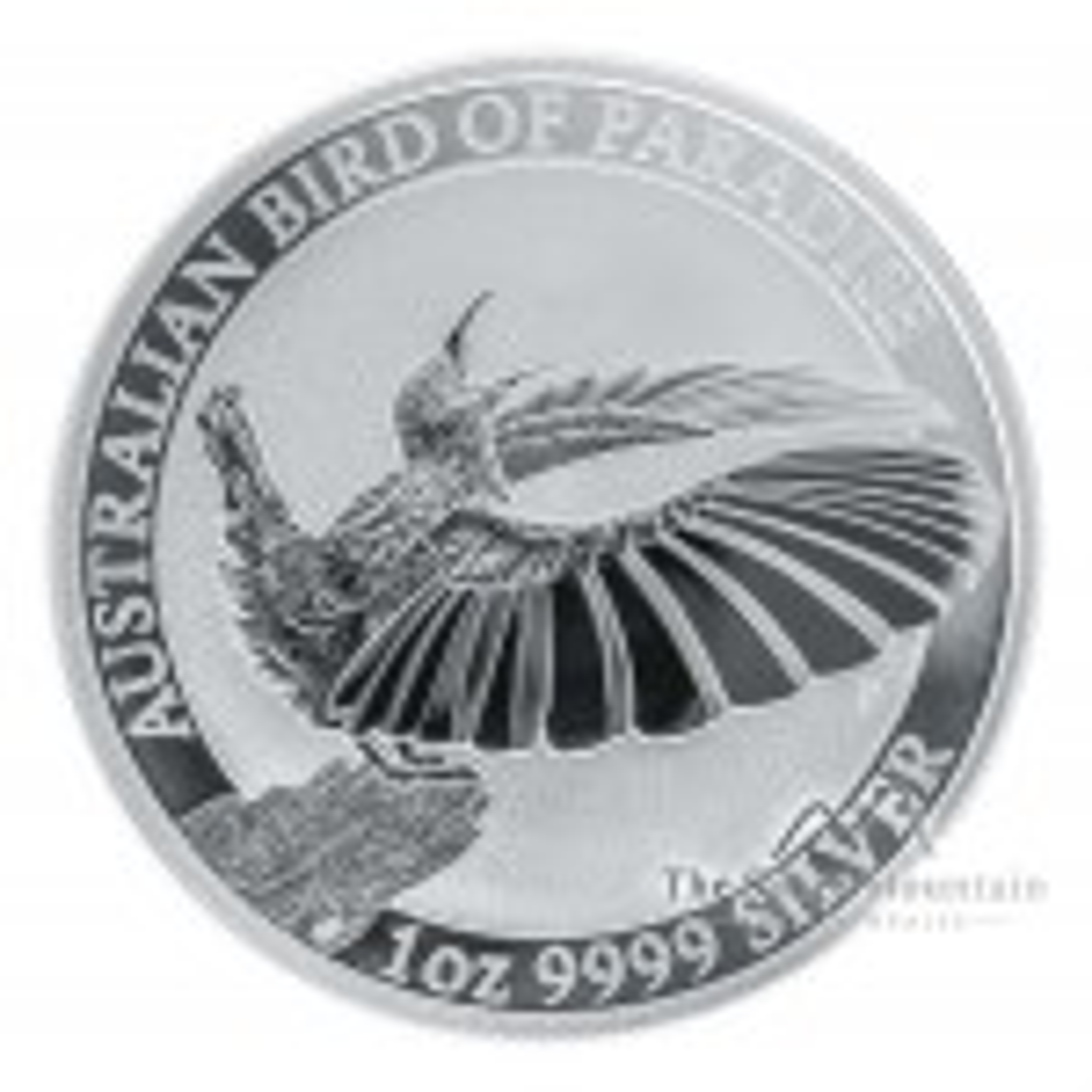1 Troy ounce zilveren munt Birds of Paradise - Victoria's Riflebird