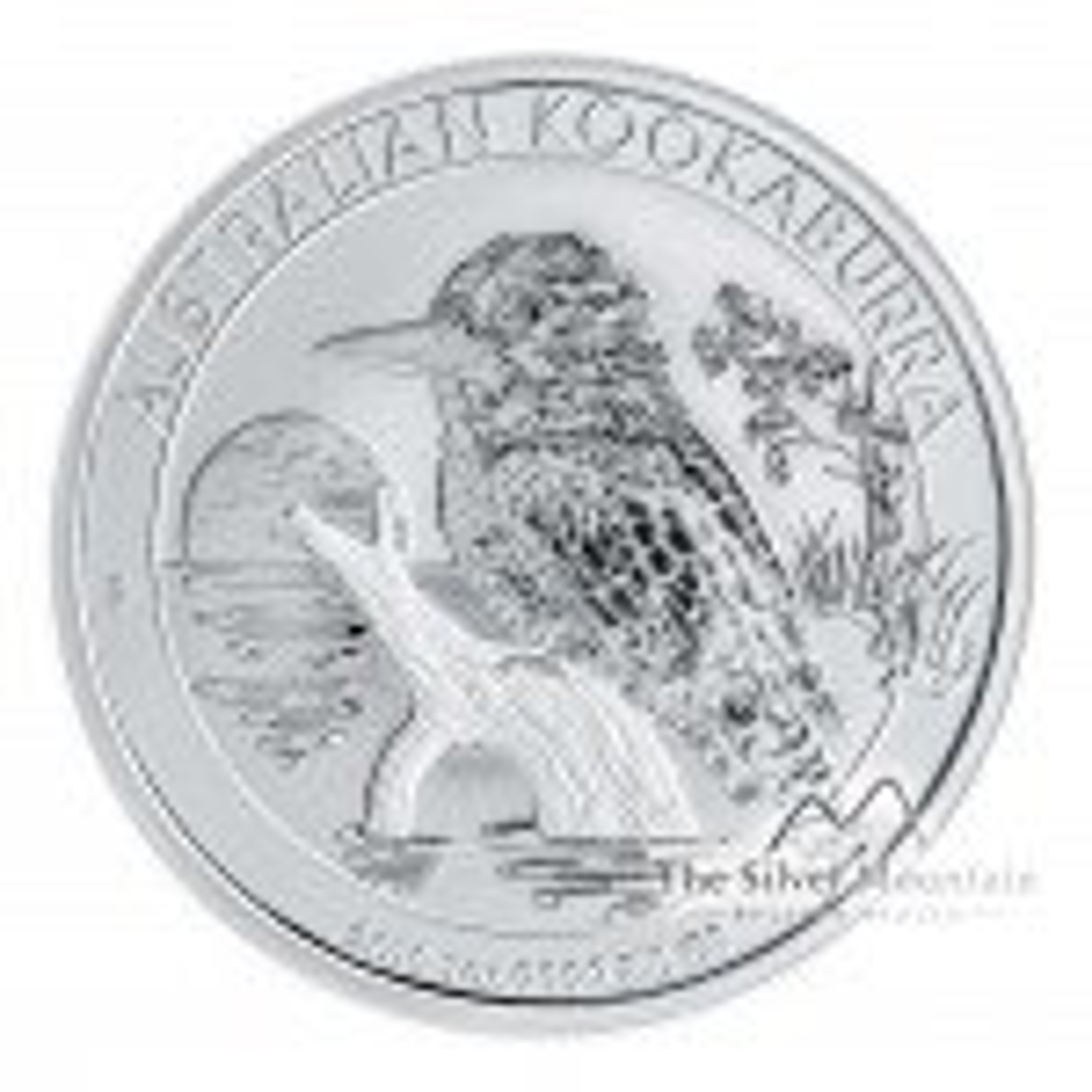 1 Troy ounce zilveren munt Kookaburra 2019