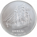 1 Troy ounce zilveren munt Cook Islands